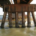 Diver-Cote for use on Bridge Piles