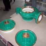 sea water volute pump coated & protected