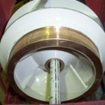 pump impeller coated