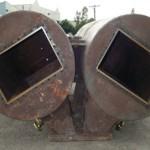 corroded intercooler vessels