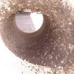corroded suction tube