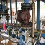 Before - Ammonia bullet pipelines