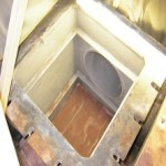 Sea Chest after 3 coats of RB 300 Series & 2 coats of RC 200 to prevent marine growth