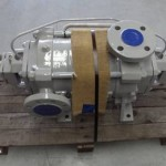 Completed coated pump