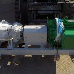 Complete coating of pump, coupling guard, channel base frame & two pole motor