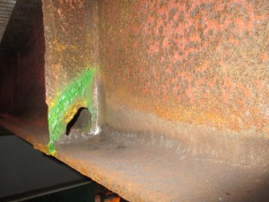 Illustrating general corrosion pitting and holes