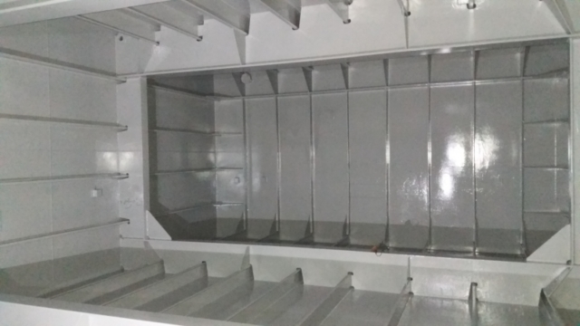 Ballast tank completed using Chemco ballast tank coating system
