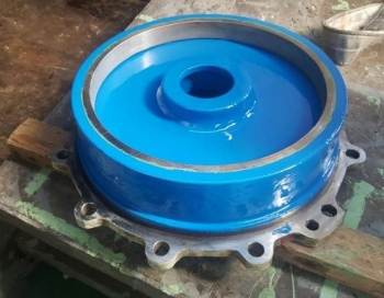 Pump component coated with Cera-chem RP 500