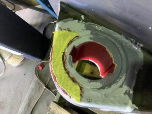 Kevlar is used to provide cavitation resistance