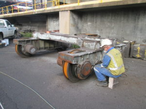 Mechanical Preparation of Bogie